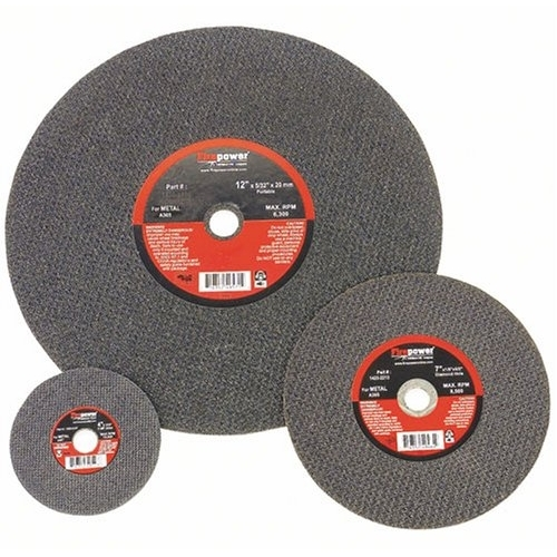 Firepower 4 x 1/16 x 3/8 Cut-Off Abrasive Wheels, Type 1 (For Metal) 1423-3145