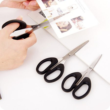 Small Portable Home Scissors Multifunction Stainless Steel Scissors Paper-cutting Scissors Embroidery Scissors - image 4 of 6