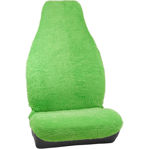 Bell Seat Cover, Shaggy/UB/Green