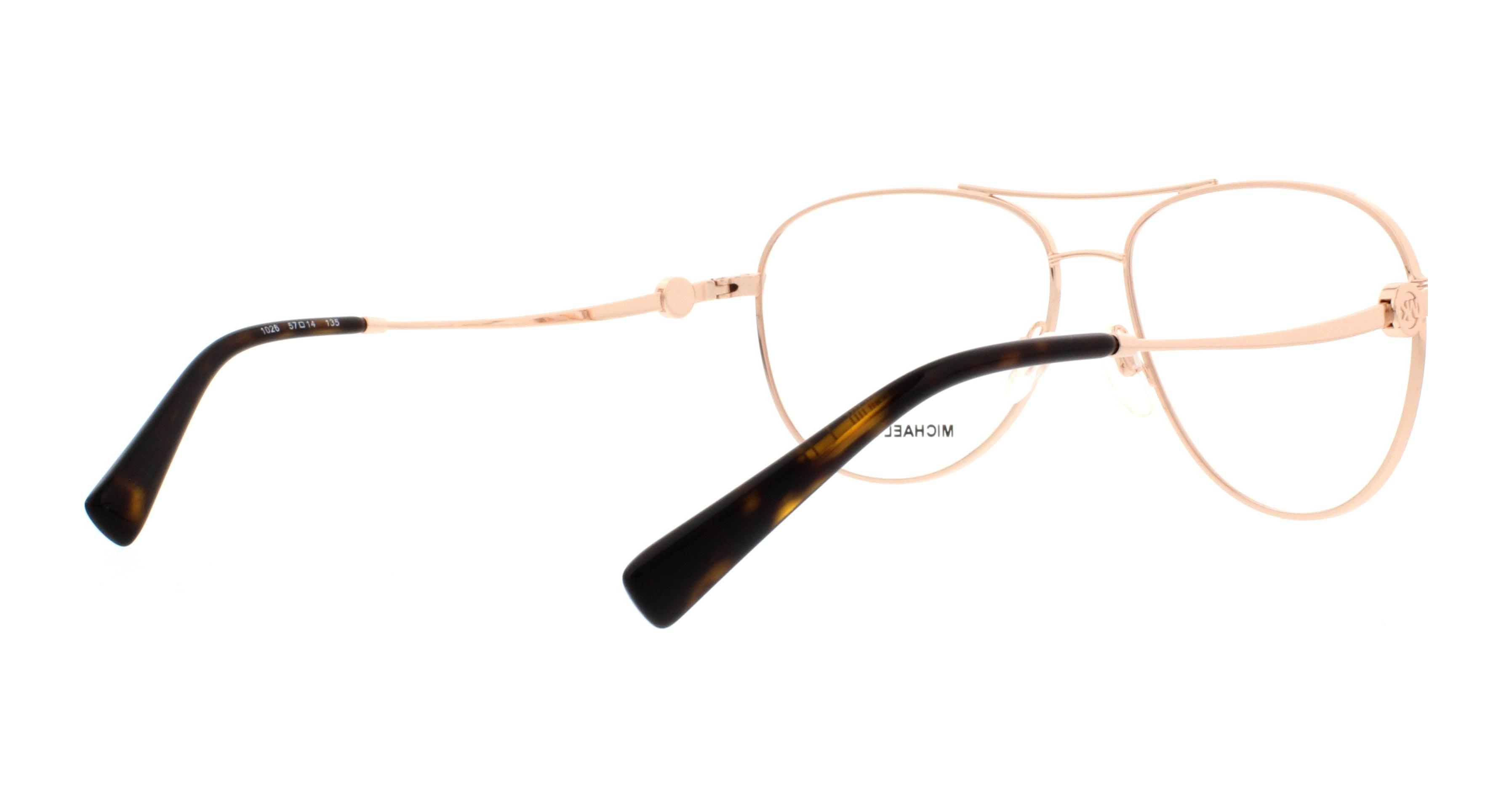 MICHAEL KORS Eyeglasses MK 7009 1026 Rose Gold 57MM - Walmart.com