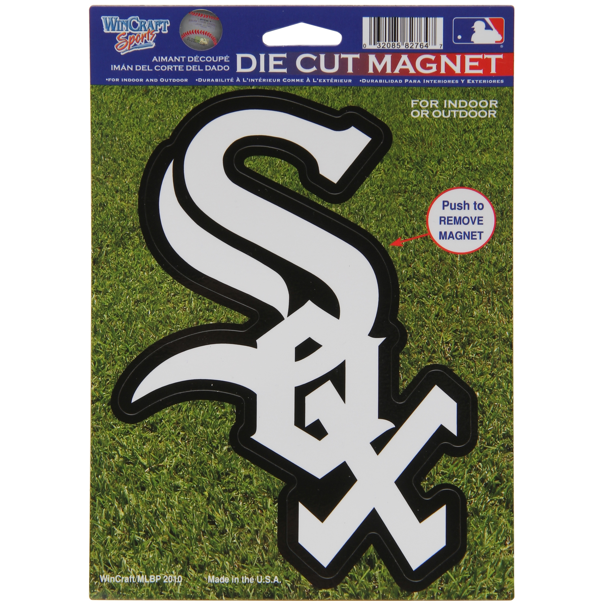 "Chicago White Sox WinCraft 6"" x 9"" Car Magnet - No Size"