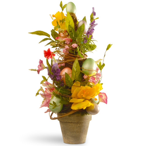 "20"" Decorated Easter Pot by National Tree"