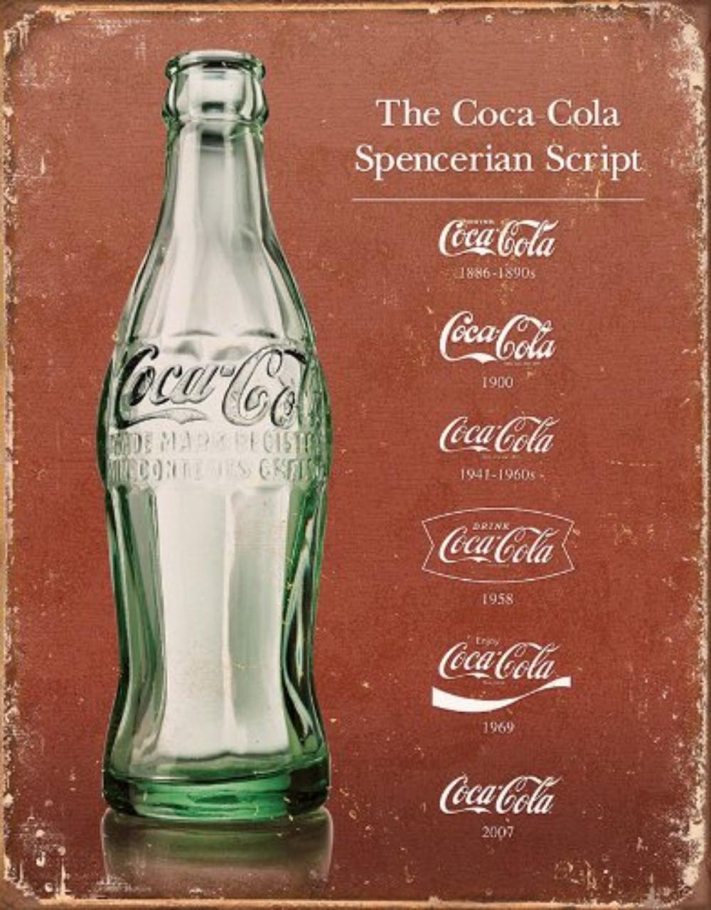 """Coca cola Bottle Coke Die Cut Embossed Premium Metal Tin Sign Vintage Garage 35/"""""""