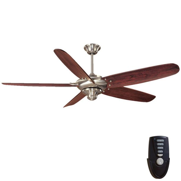 Brushed Nickel Ceiling Fan Remote
