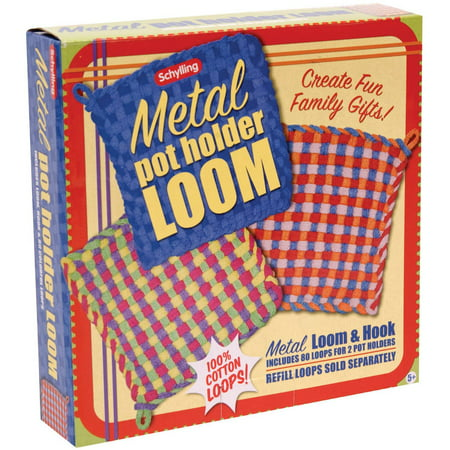 Classic Pot Holder Loom (Schylling Metal Potholder Loom )