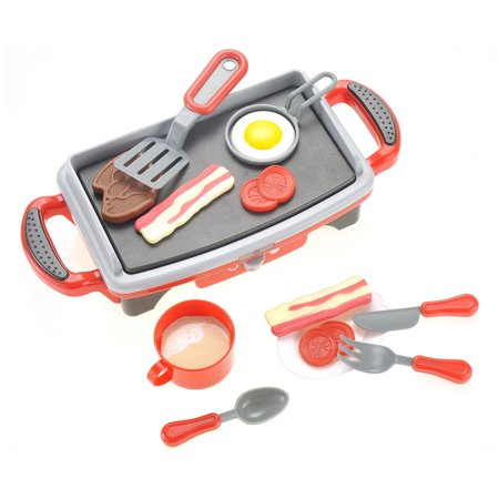 Breakfast Griddle Electric Stove Play Food Kitchen Grill (Best Cookware For Electric Stove)