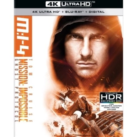 Mission: Impossible Ghost Protocol (4K Ultra HD + Blu-ray + Digital)