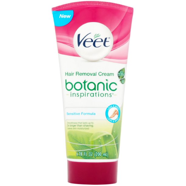Veet Hair Removal Gel Cream Sensitive Formula 6 78 Oz Pack Of 6