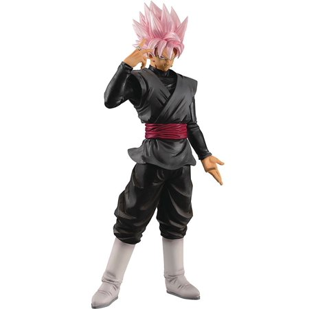 Dragon Ball Grandista Resolution of Soldiers Super Saiyan Rose Goku Black Collectible PVC Figure