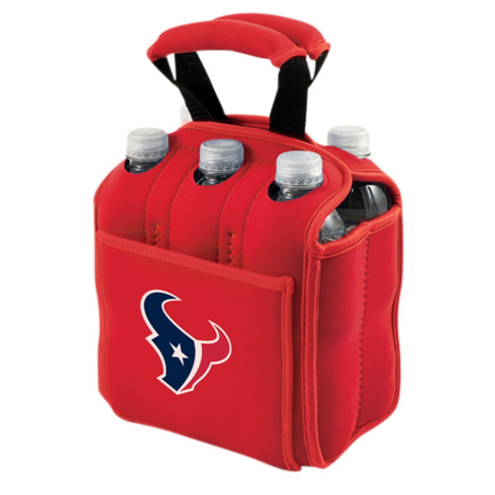 Picnic Time Six Pack, Red Houston Texans Digital Print