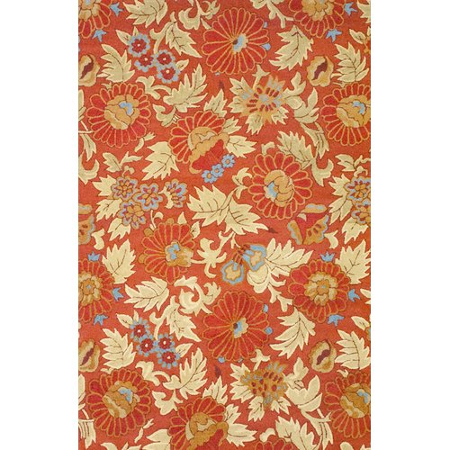 Herat Oriental Rust Cream Area Rug