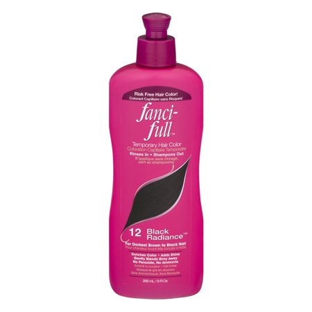 Fanci-Full Temporary Hair Color Black Radiance, 9.0 FL OZ