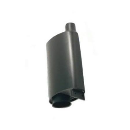 Length John Deere Muffler - AT47110 Muffler Made For John Deere Crawler Loader Dozer 40D 550 555 455D 344G +