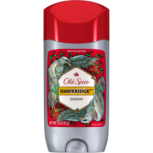 Old Spice Wild Collection Hawkridge Scent Men's Deodorant, 3 oz