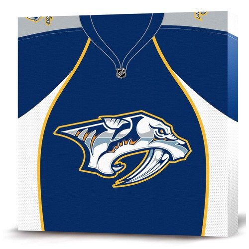 Game On Images NHL Jersey Premium Textual Art on Canvas