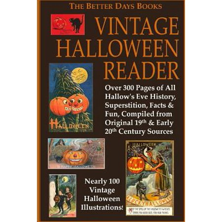 The Better Days Books Vintage Halloween Reader - Vintage Halloween Book Boxes