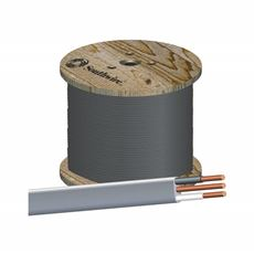 Direct Burial Uf-B Underground Fedder Cable, 12/2, 1000 Ft. Per Roll