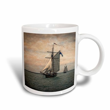 Festival Ceramic (3dRose Tall Ships Festival, Digitally Altered - Ceramic Mug, 11-ounce )