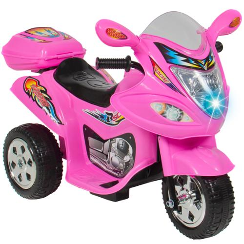 Kids Ride On Motorcycle 6V Toy Battery Powered Electric 3 ...