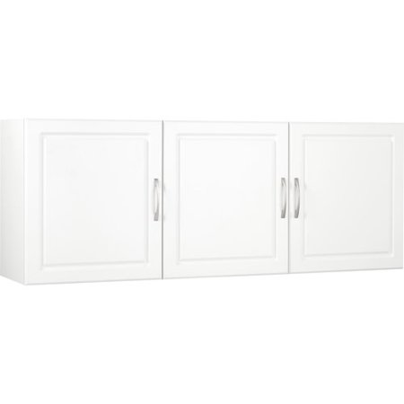 """SystemBuild 54""""W x 12.4""""D x 20.3""""H Wall Cabinet, White"""
