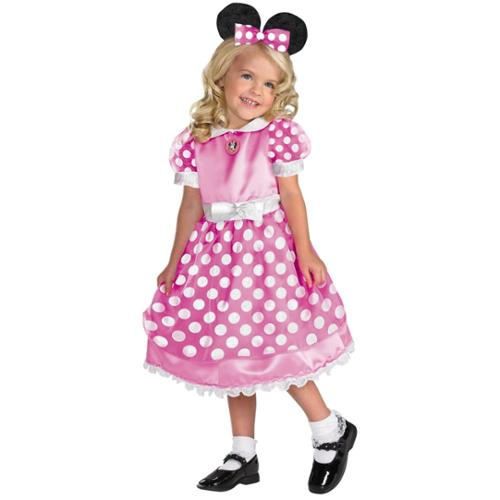 Pink Minnie Mouse Clubhouse Costume - Size S