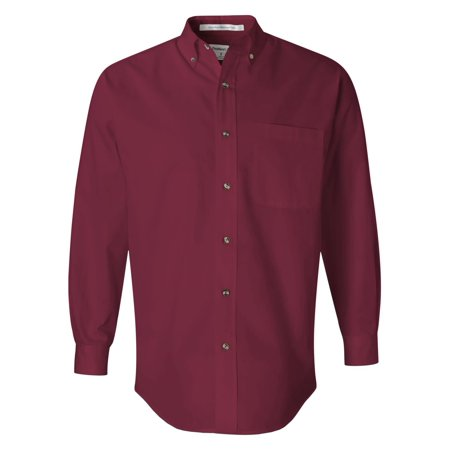 - FeatherLite 3281 Long Sleeve Stain-Resistant Twill Shirt