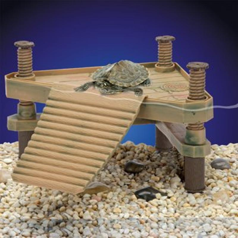 Penn Plax The Reptology Floating Turtle Pier & Basking Platform - Small