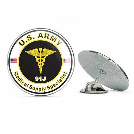 U S  Army MOS 91J Medical Supply Specialist Metal 0 75