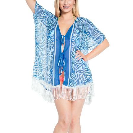 - Women's Printed Vintage Chiffon Loose Blouse Boho Free Size Coat Shawl Kimono Beach Flyaway Cardigan Tops