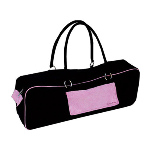 Wai Lana Productions 220 Urban Yoga Bag - Black-Pink