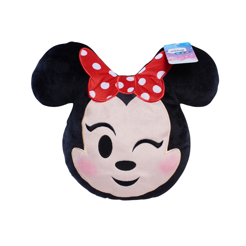 "Disney Emoji Minnie Mouse Winking 13"" Plush"