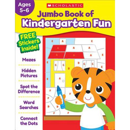 Jumbo Book of Kindergarten Fun Workbook (Paperback)](Fun Kindergarten Halloween Crafts)