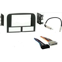 Jeep Grand Cherokee 1999 - 2001 WJ Double Din Dash Kit, harness and antenna adap