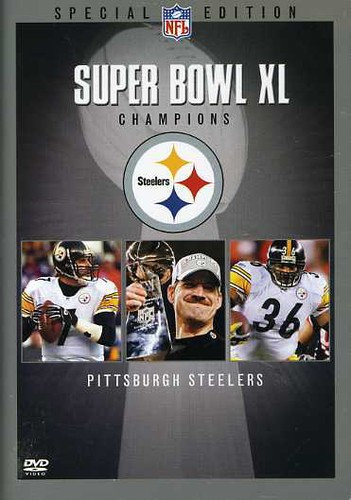 NFL Super Bowl XL Champions: Pittsburgh Steelers (DVD) by Vivendi Entertainment