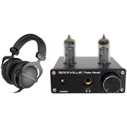 Beyerdynamic DT-770-PRO-32 Ohm Studio Monitoring Headphones + Tube Headphone Amp
