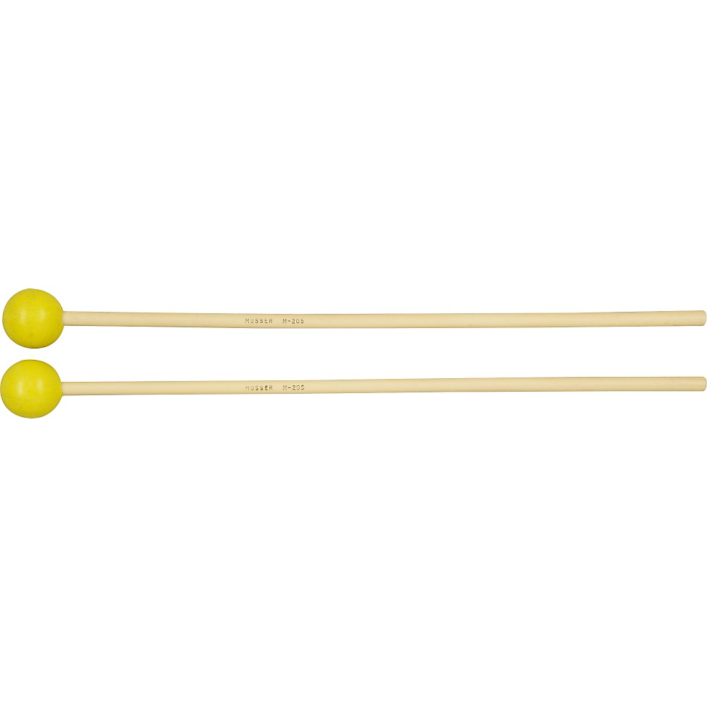 Musser M205 Medium Rubber mallets by Musser