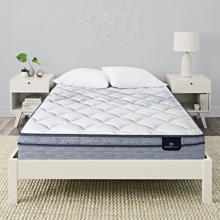 Serta Perfect Sleeper Elkins II Eurotop Plush Queen Low Profile Mattress (Reviews For Serta Perfect Sleeper Euro Top Mattress)