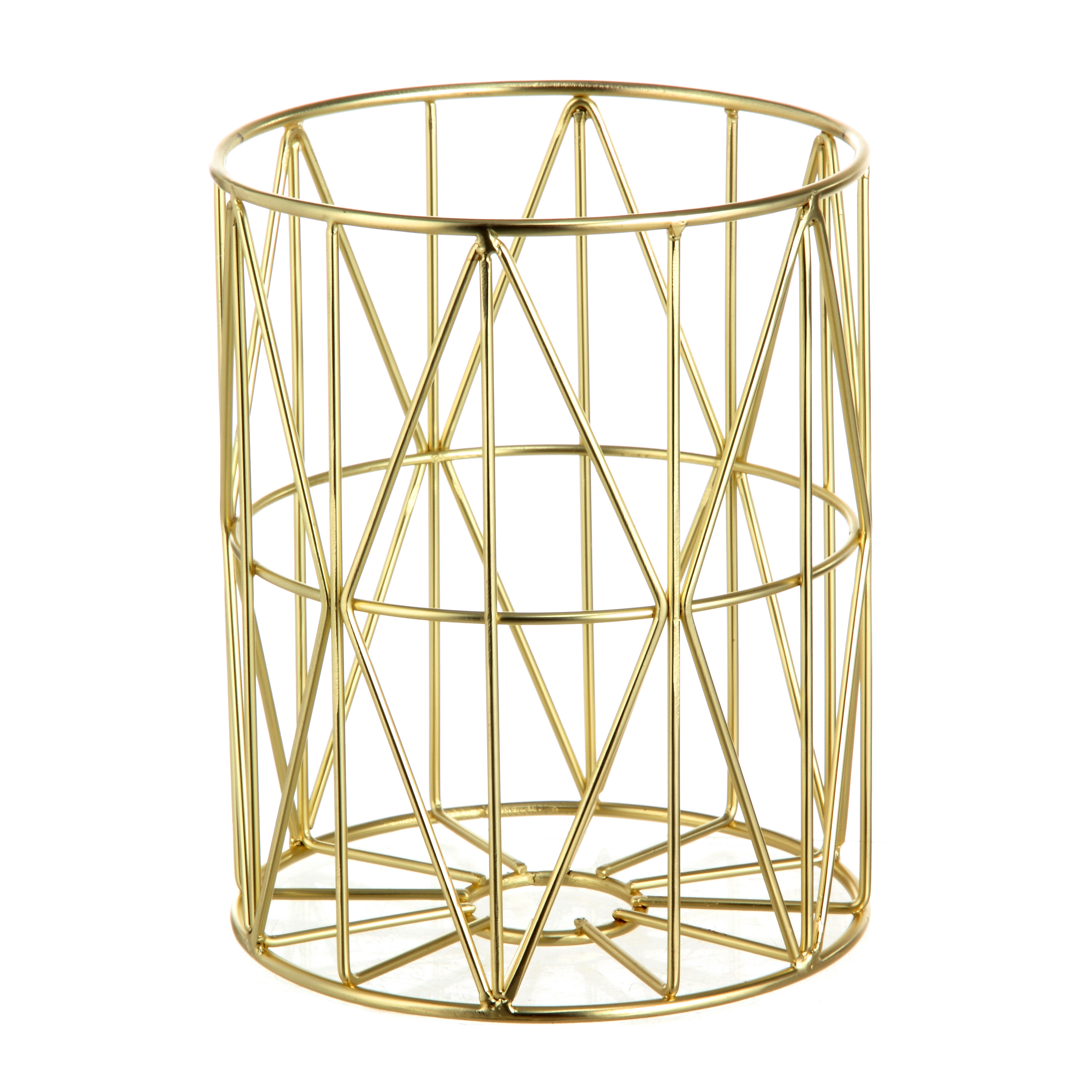 Better Homes and Gardens Pillar Candle Holder, Gold