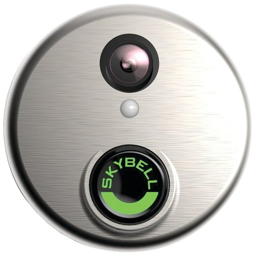 SkyBell HD Wi-Fi Video Doorbell Silver by SkyBell