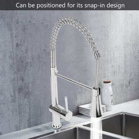 Yosoo Contemporary Kitchen Sink Faucet - Single Handle Stainless Steel  Kitchen Faucets with Pull Down Sprayer,Hot Cold Water Mixer Tap