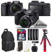 Nikon COOLPIX B500 Digital Camera 40x Optical Zoom + Tripod + Backpack -16GB Kit