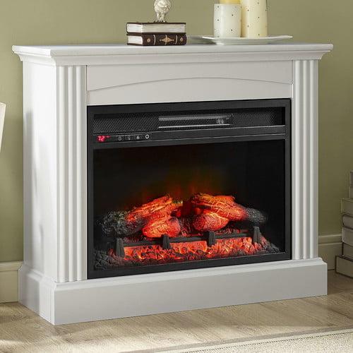 Whalen Furniture Glaston Electric Fireplace - Walmart.com