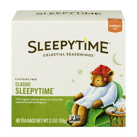 (6 Boxes) Celestial Seasonings Herbal Tea, Sleepytime, 40 -
