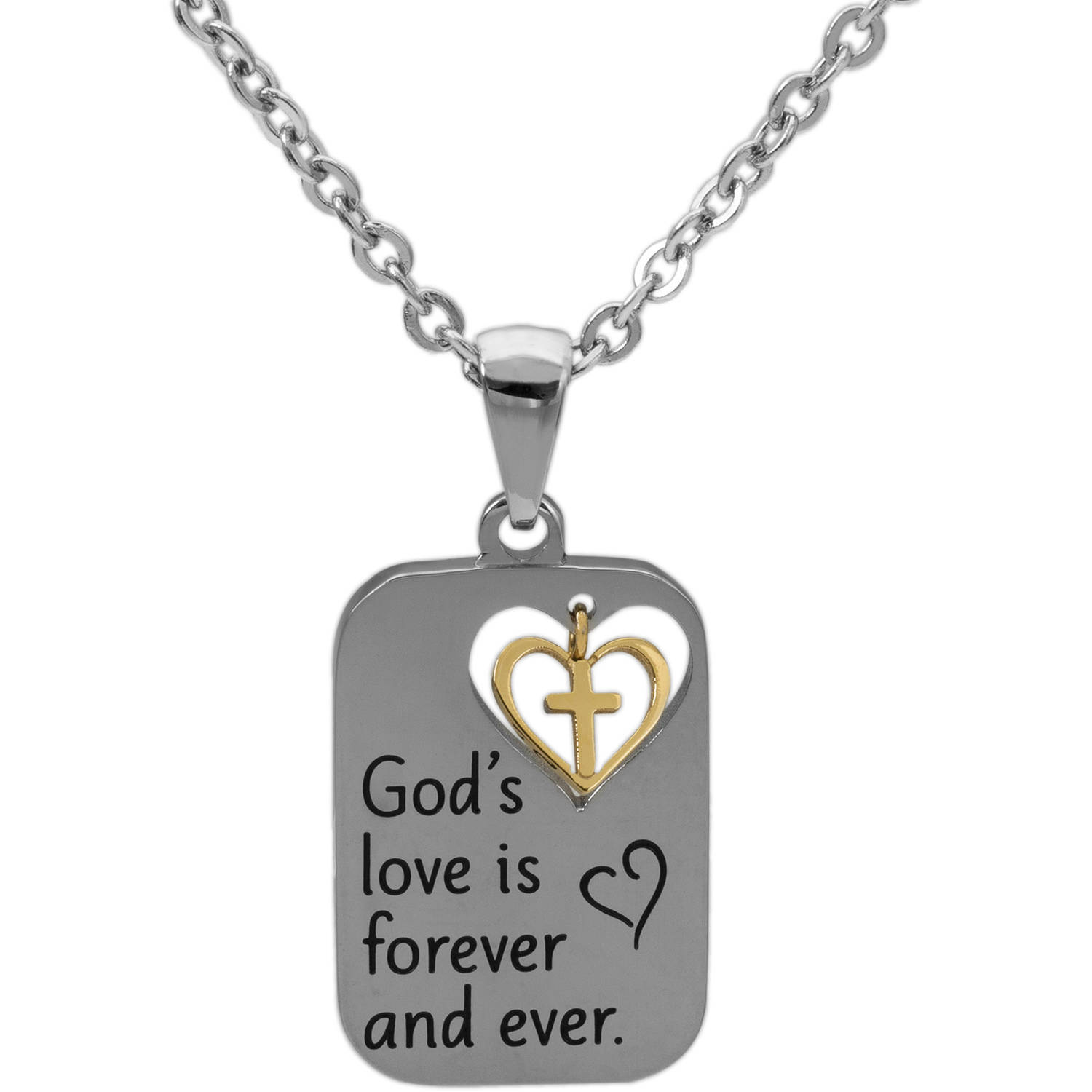 wishlist necklace child cart silver company the god add of catholic pendant to sterling