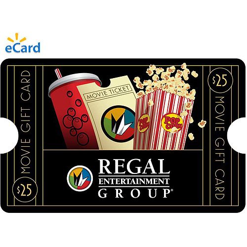 (Email Delivery) Regal Movie $25 eGift Card