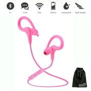 EEEKit Wireless Sport Bluetooth V4.1 Sweatproof Stereo Earphones Earbuds Headsets w/ MIC & Volume Control for Phone