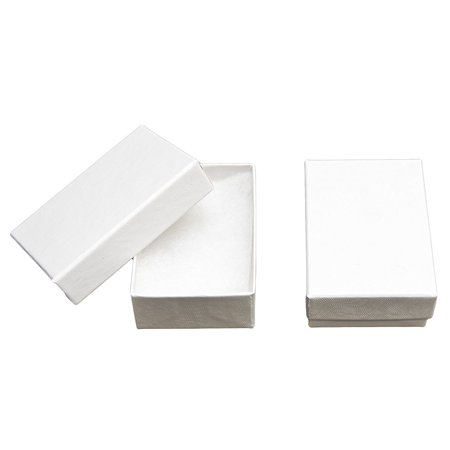 Made In Usa Jewelry Gift Box In White Swirl With Removable Cotton Pad 2 5x1 8x1 Pack Of 25 Nb Cleaning Cloth Novel Box Kraft Boxes Provide A