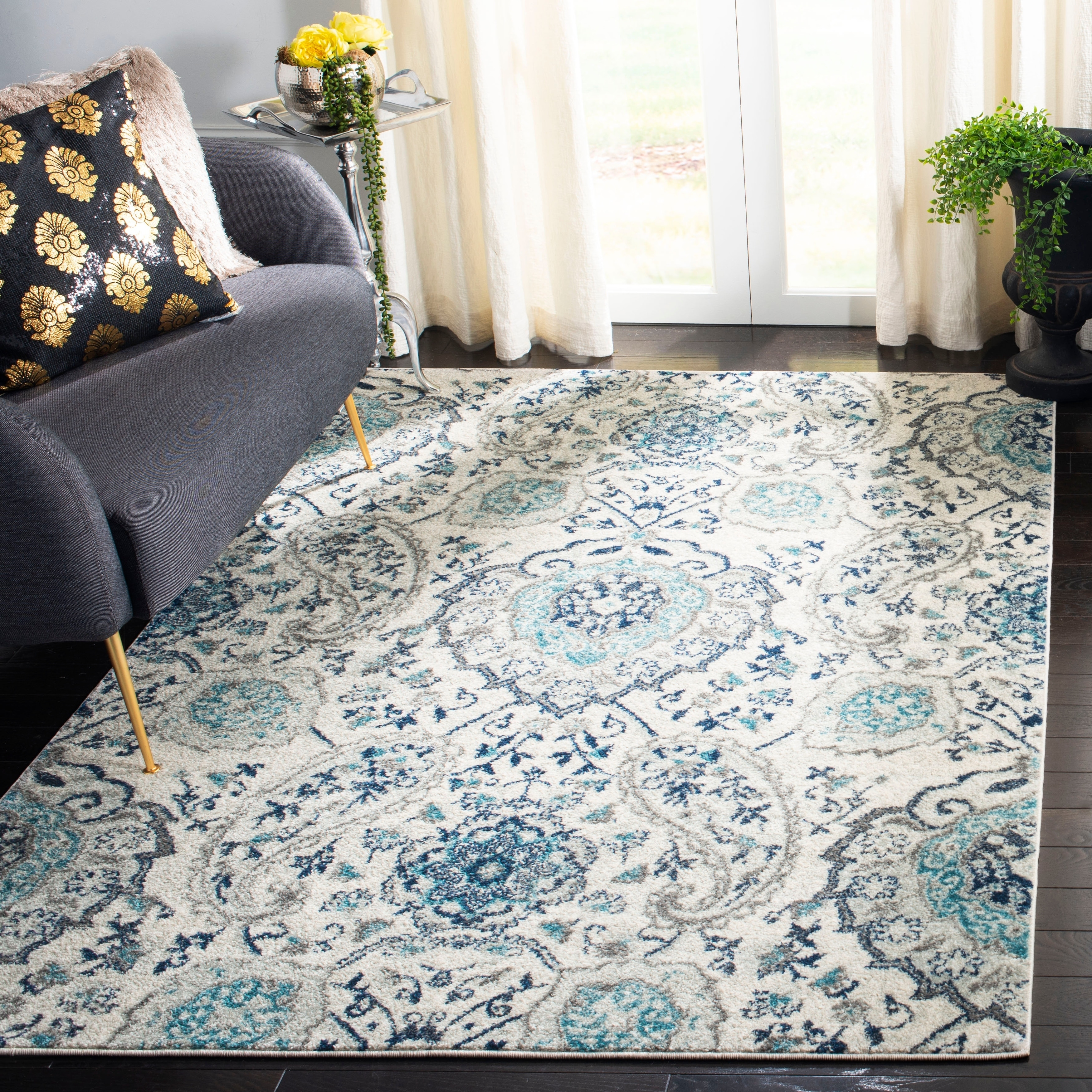 Safavieh Madison Heather Floral Paisley Area Rug Or Runner