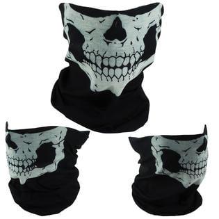 Skull Mask Bandana Motorcycle Face Snowboard Ski Mask Masks Balaclava 3-Pack