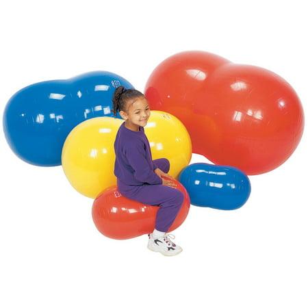 Gymnic 12 Inch Physio-Roll Ball, Blue